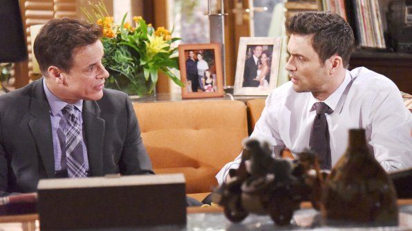 Michael Baldwin and Cane Ashby (Christian LeBlanc and Daniel Goddard) Y&R