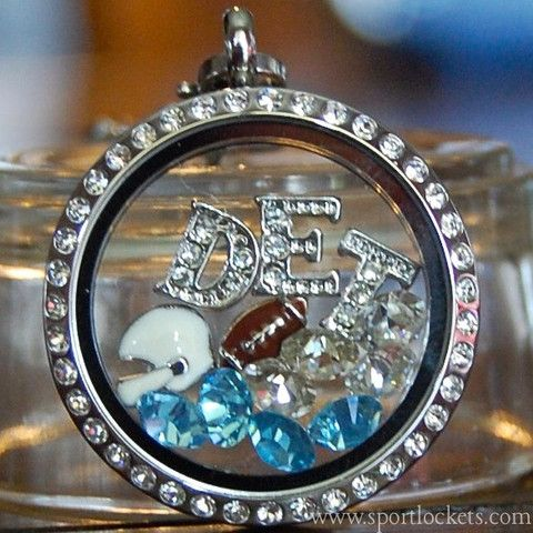 Detroit Lions football locket necklace – http://etsy.me/1LhWFG4