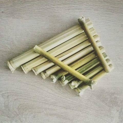 Flute de pan finit