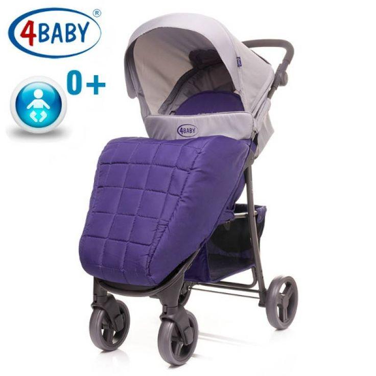 Детская коляска 4 Baby Rapid NEW (Purple)  Цена: 2422 UAH  Артикул: bk629  Детская коляска 4 Baby Rapid – современная, легкая, прогулочная коляска для деток с рождения и весом до 15 кг.  Подробнее о товаре на нашем сайте: https://prokids.pro/catalog/kolyaski/progulochnye_kolyaski_trosti/detskaya_kolyaska_4_baby_rapid_new_purple/