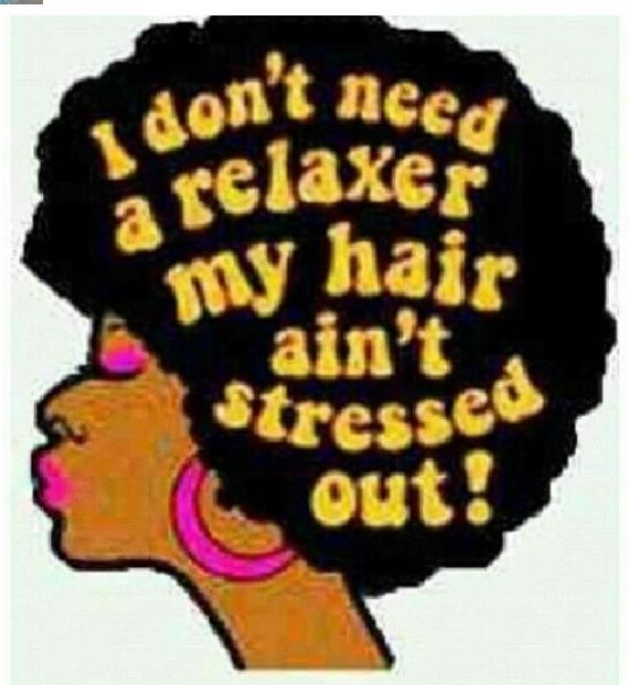 Natural Hair Quote