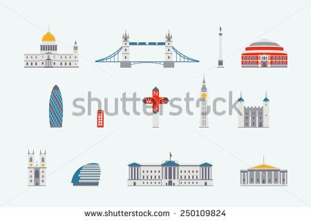 London  historical and modern building