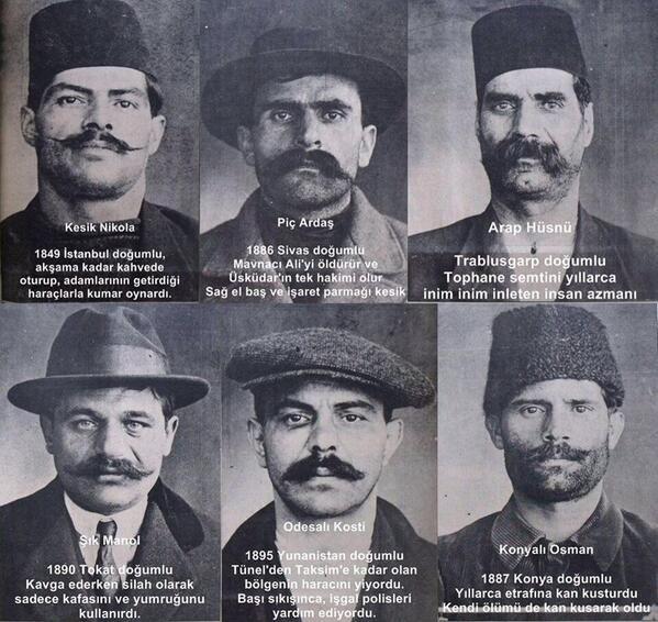 eski istanbul kabadayıları