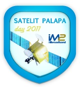 Hari Satelit Palapa 2011 - #HariSatelitPalapa: Celebrate the Glory of Satelit Palapa.  Move forward with the world of technology to reach the new frontiers. http://www.facebook.com/im2broom