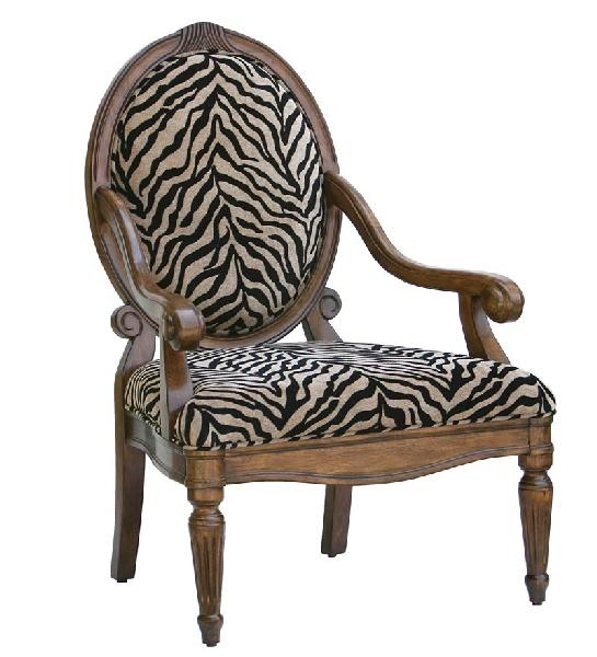 Zebra Print Accent Chair Places Spaces Amp Things Pinterest