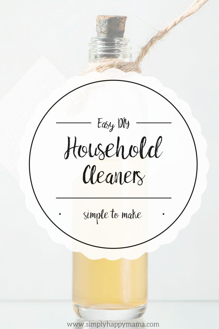 Easy DIY Household Cleaners