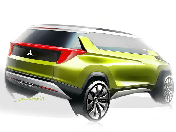 Mitsubishi AR Concept - Design Sketch