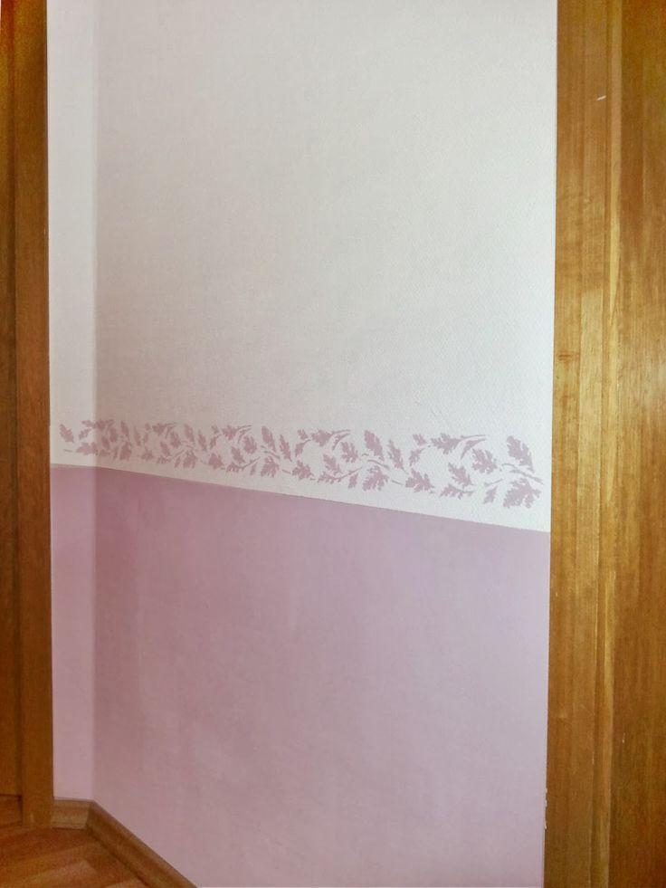 Die Selbstmacher: Schablone für Wandbordüre