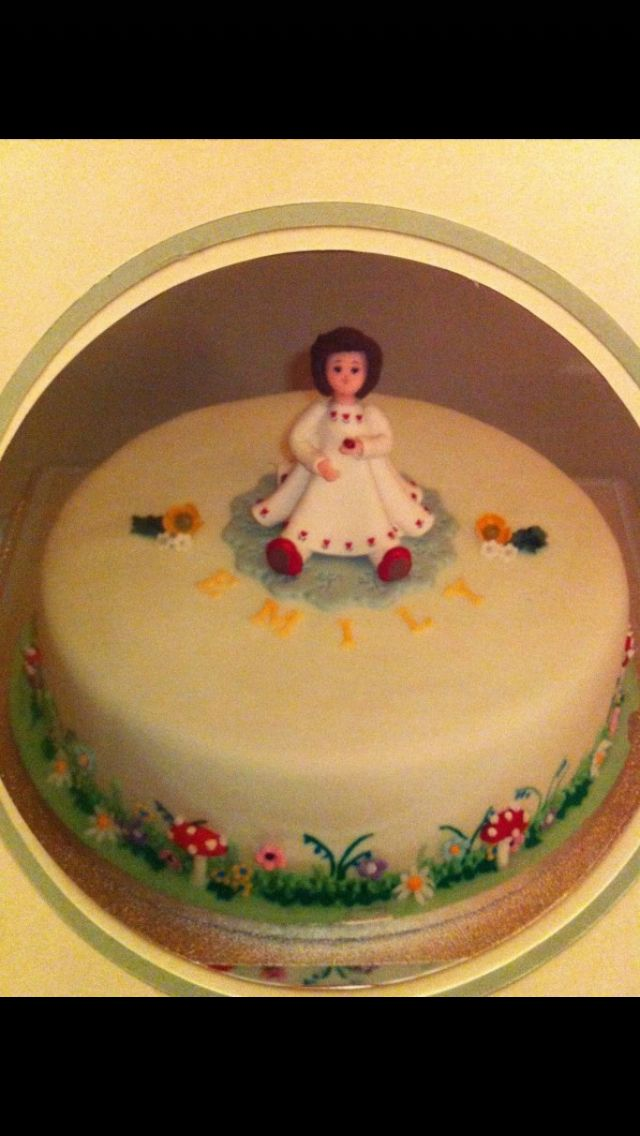 My naming ceremony cake when I was 6 months old