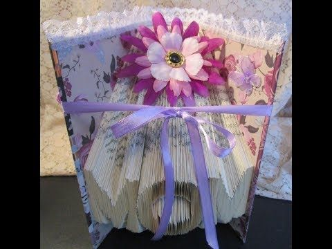Folded Book Art *MOM* Altered Book Art (Mother's Day Gift)