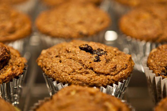 Peach Bran Muffins with Quinoa - Cooking Quinoa