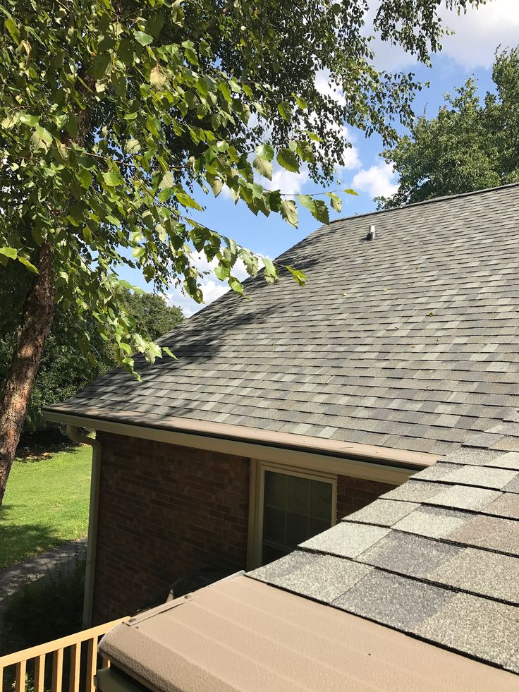 Certainteed Landmark Pro with Seamless Gutters and Gutter Helmet by Square One Restoration LLC