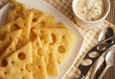 Сырные крекеры - воздушная закуска, от которой невозможно оторваться | Четыре вкуса