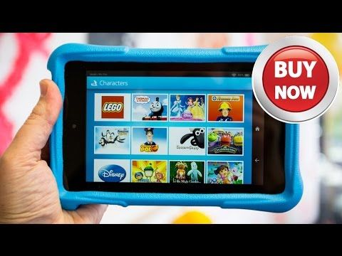 Fire Kids Edition Tablet, Display, Wi-Fi, 16 GB, Blue Kid-Proof Case A  full-featured Fire tablet with a 1024 x 600 IPS display that's …