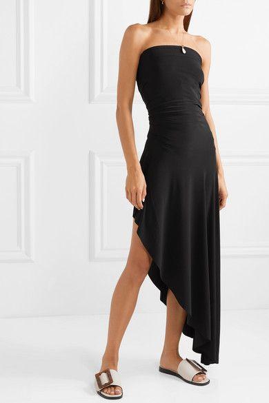 9a94d4987fd Norma Kamali | Convertible stretch-jersey maxi dress | NET-A-PORTER.COM