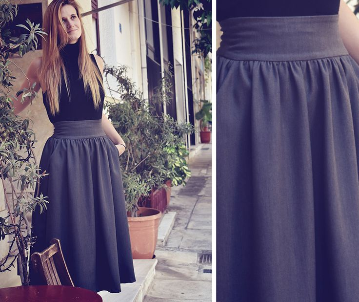 Must have..!Midi Skirt! Fall Winter 2017 - 2018 New Collection!