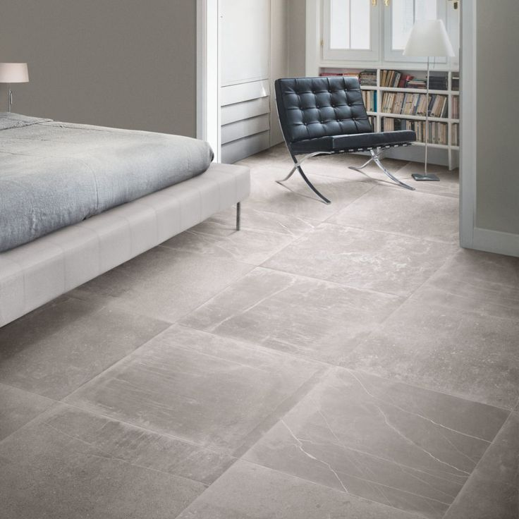 Fusion Grey Matt Porcelain Stone Tile Flooring Ceramic Floor Tiles Porcelain Tile