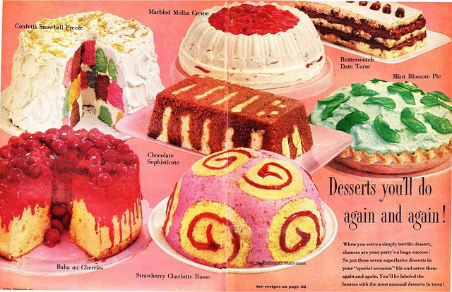 Desserts you'll do again and again! (because you will be vomiting them up!)
