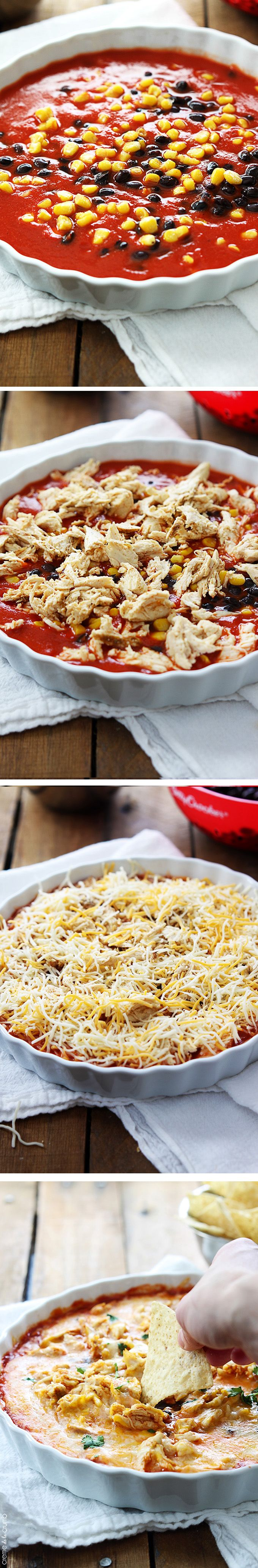 chicken enchilada dip chicken enchilada dip cheesy chicken enchiladas ...