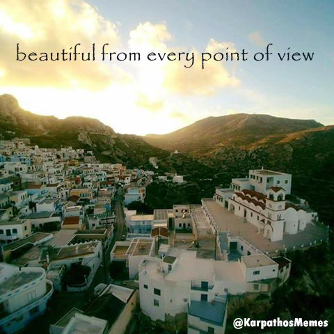 beautiful from every point of view  #karpathos #menetes #church #view #karpathos #karpathosmemes