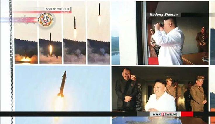 Coreia do Norte: Lançado míssil guiado de precisão. A Coréia do Norte disse que realizou com sucesso um teste-lançamento de um novo míssil balístico, usando