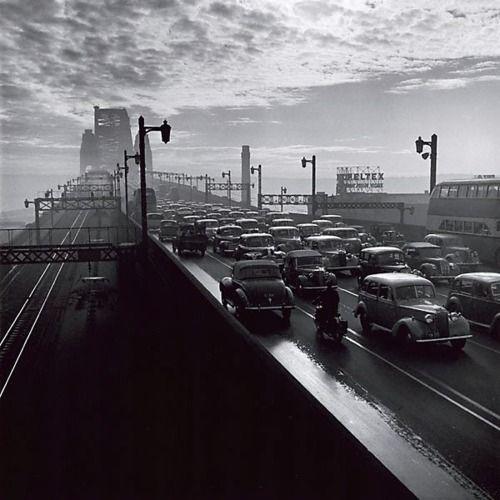 David Moore - Sydney Harbour Bridge, 1947
