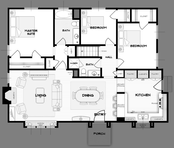 1000+ Images About Home Design Plans On Pinterest