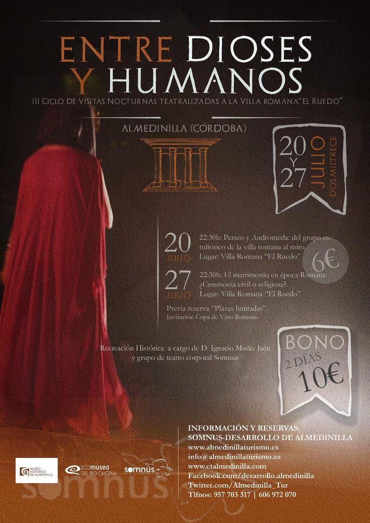 "Visitas teatralizadas a la Villa Romana ""El Ruedo"" (Almedinilla, Córdoba) / Dramatised visits to the ""Villa Romana El Ruedo"" (Almedinilla, Córdoba), by @Almedinilla_Tur"