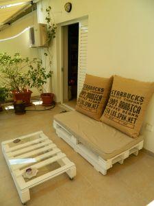 Des palettes en bois pour mes meubles de jardins