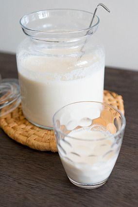 自家製生アーモンドミルクとアーモンドプードル|レシピブログ