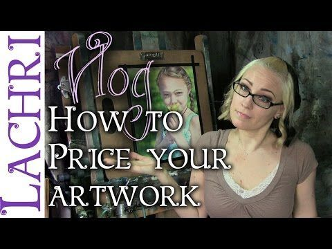 Tips for pricing your artwork - artist vlog w/ Lachri - YouTube