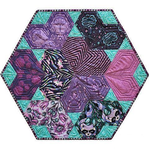 35 besten Hexnmore Bilder auf Pinterest Hexagon Quiltmuster - deko ideen hexagon wabenmuster modern