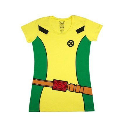 Marvel X-Men Rogue Costume Girls T-Shirt Size : Small @ niftywarehouse.com #NiftyWarehouse #Xmen #Marvel #X-Men #Comics #Geek #ComicBooks