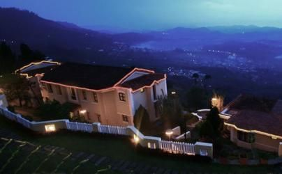 Aerial view of Hill Country Resort, Tamil Nadu, India