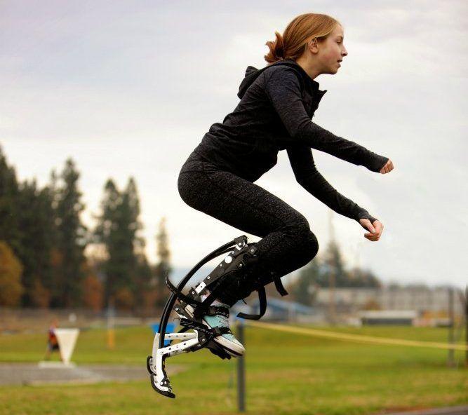 Kids Jumping Stilts by AIR Trekkers #Cool, #fun, #jump