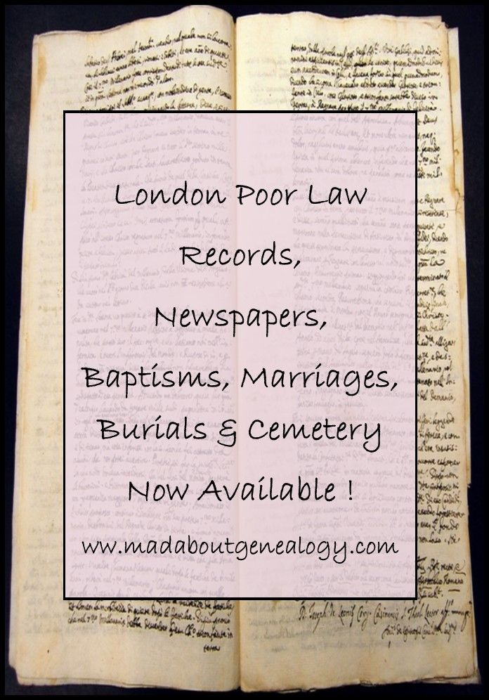 Lost any ancestors in London or Chicago or New York? Any ancestors who were suffragettes? Or who simply might have been mentioned in a newspaper? Read about the great family history record releases at www.madaboutgenealogy.com