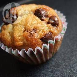 Maddie's Banana and Choc Chip muffins @ allrecipes.com.au