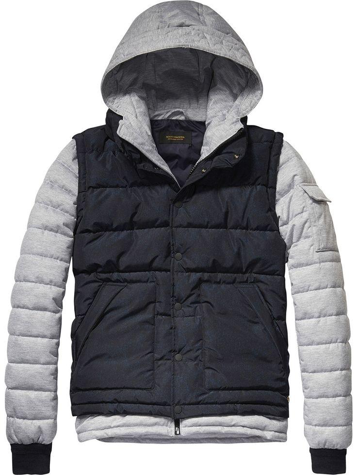 Куртка утеплённая scotch&soda (арт. 132.1504.0710127032.970) | Мужская одежда в интернет-магазине