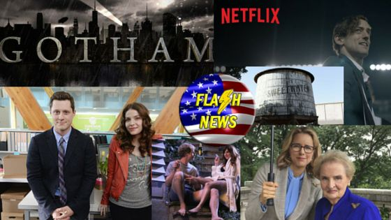 News Serie TV della settimana con novità per Gotham, Westworld, You're The Worst, Mr Selfridge, The Night Shift trailer di Club de Cuervos e Kevin From Work