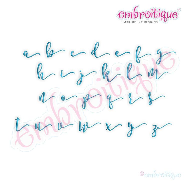 Alphabets Lettering Melissa Monogram Set Hand