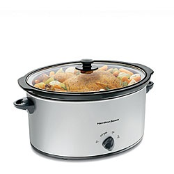 Hamilton Beach 33176 7-quart Oval Slow Cooker  @Overstock - Hamilton Beach slow cooker makes cooking for the whole family easy  Crock pot cooks evenly   With this 7-quart slow cooker, meals are ready when you arehttp://www.overstock.com/Home-Garden/Hamilton-Beach-33176-7-quart-Oval-Slow-Cooker/3907259/product.html?CID=214117 $43.99