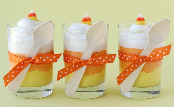 Halloween Ideas :: Candy Corn Sweets and Treats!