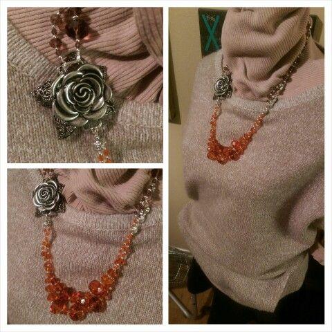 Rose Necklace Design