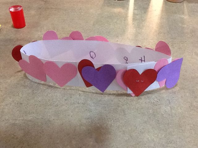 valentine art for 3 year olds