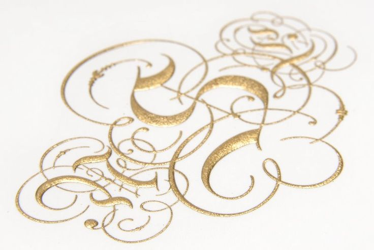Note 3D'esque nature of engraving in this close up.  www.grosvenorstationerycompany.com
