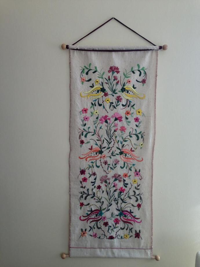 Hand Embroidered Board by IstanbulNeedleworks, $500.00 USD  designed and made by me. http://www.blogcu.com/kullanici/turkishneedlework,