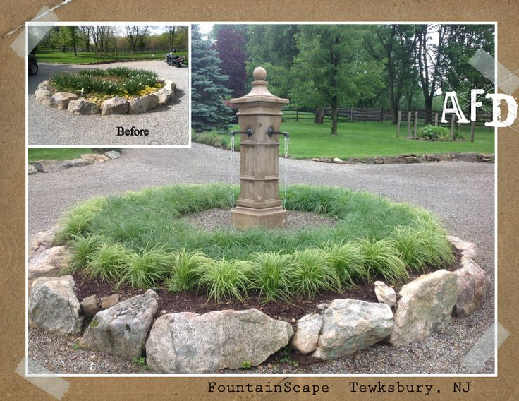 Concrete Decorative FountainScape- Tewksbury, NJ  http://afrogsdream.com/fountainscapes/ http://www.pinterest.com/afrogsdream/fountainscapes/ http://www.houzz.com/projects/819440/fountainscapes http://www.hometalk.com/6075038/fountainscapes-frog-s-dream-aquatic-services https://www.youtube.com/watch?feature=player_detailpage&v=zYv2HELd0m8