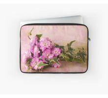 Laptop Sleeve. #stocks #scentedstocks #pinkstocks #pinkscentedstocks #stockflowers #pinkstockflowers #flowersandivy #flowersandribbon #flowers #pinkflowers #sandrafoster #sandrafosterredbubble