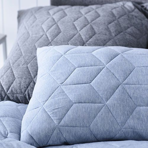 Empire Jersey Quilt Cover Blue