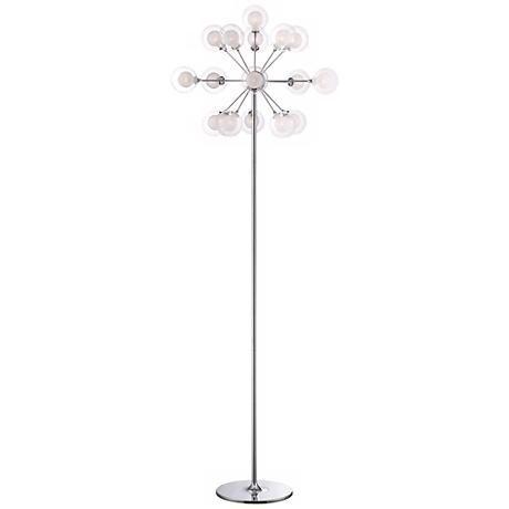 possini euro design 16light chandelier floor lamp
